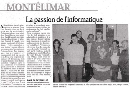 Photo Dauphine 4/12/2006 / Aurelien Beautheac